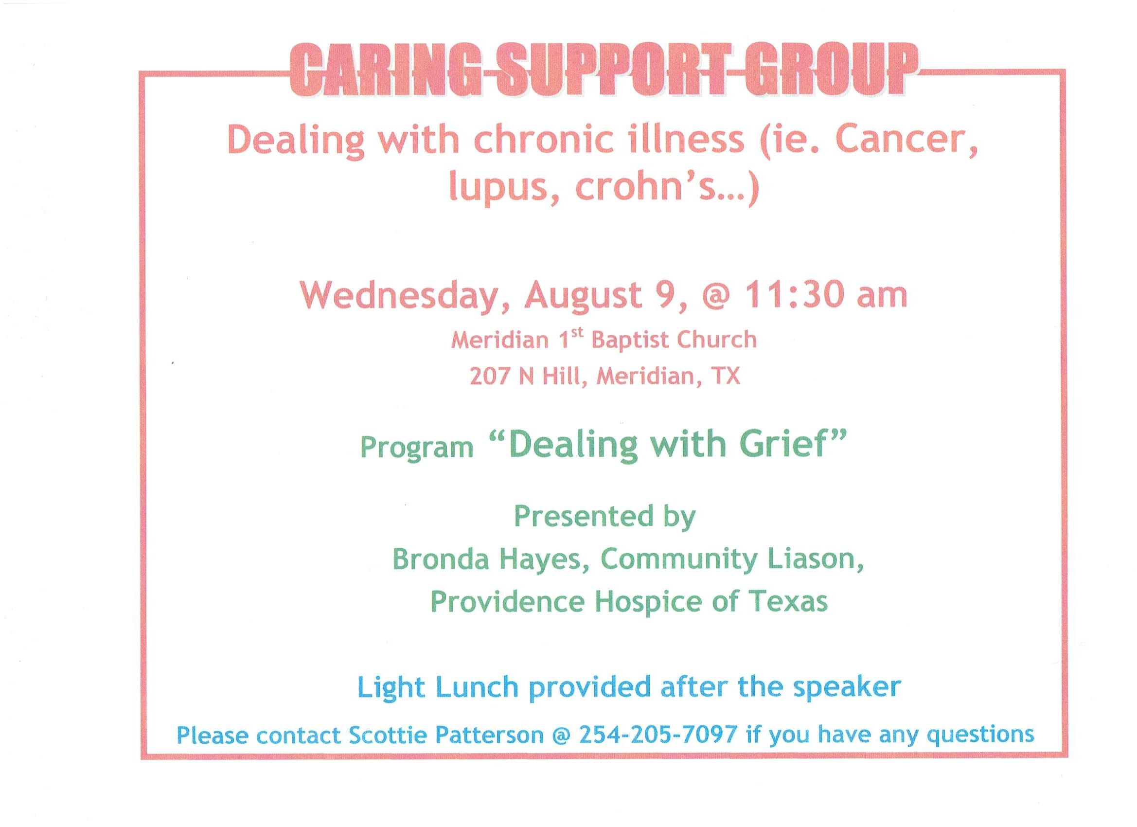 Caring Support Group